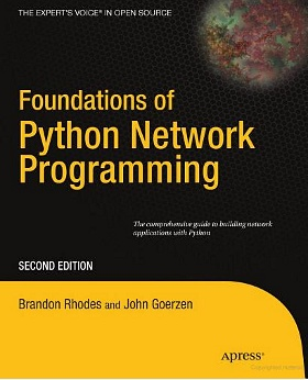 Book cover of Foundations of Python Network Programming